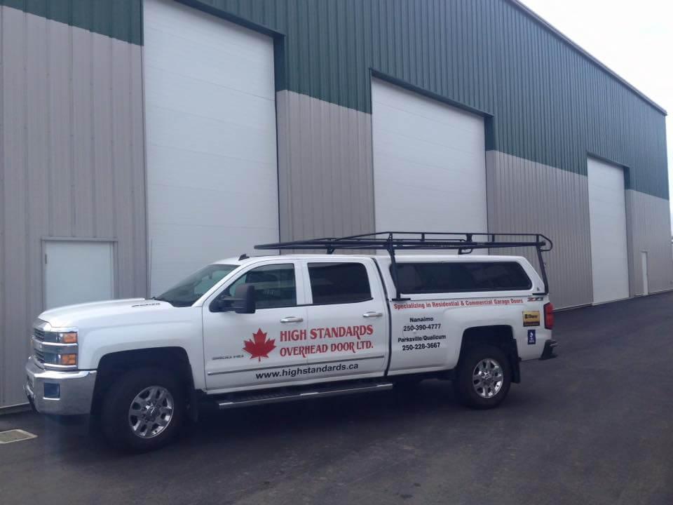 High Standards Overhead Door Ltd. - Central Vancouver Island